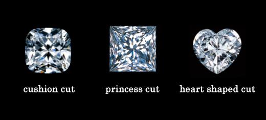「花式切割」公主切割 長角階梯型切割 心形切割