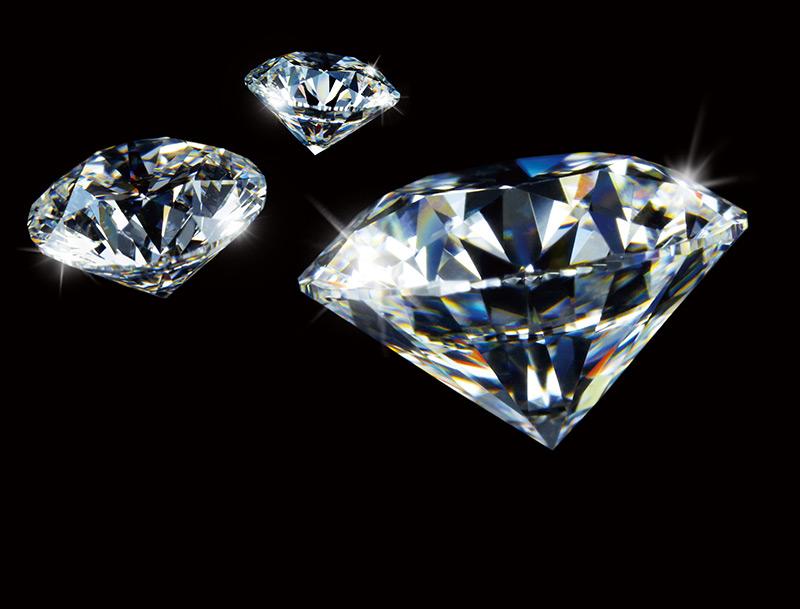 ダイヤモンドはなぜ輝く?