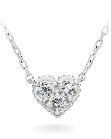 ハートモチーフ  ダイヤモンド